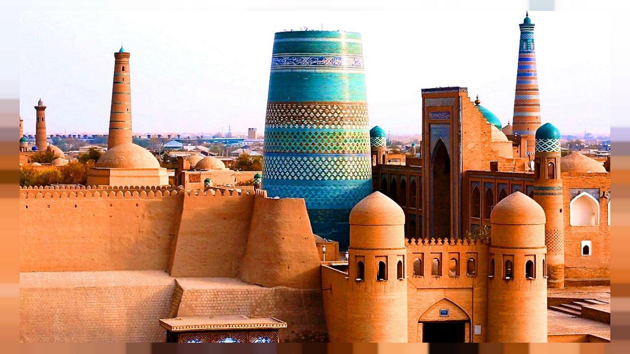 Khiva – la ville – musée ferroviaire - SILK TOUR Uzbeksitan