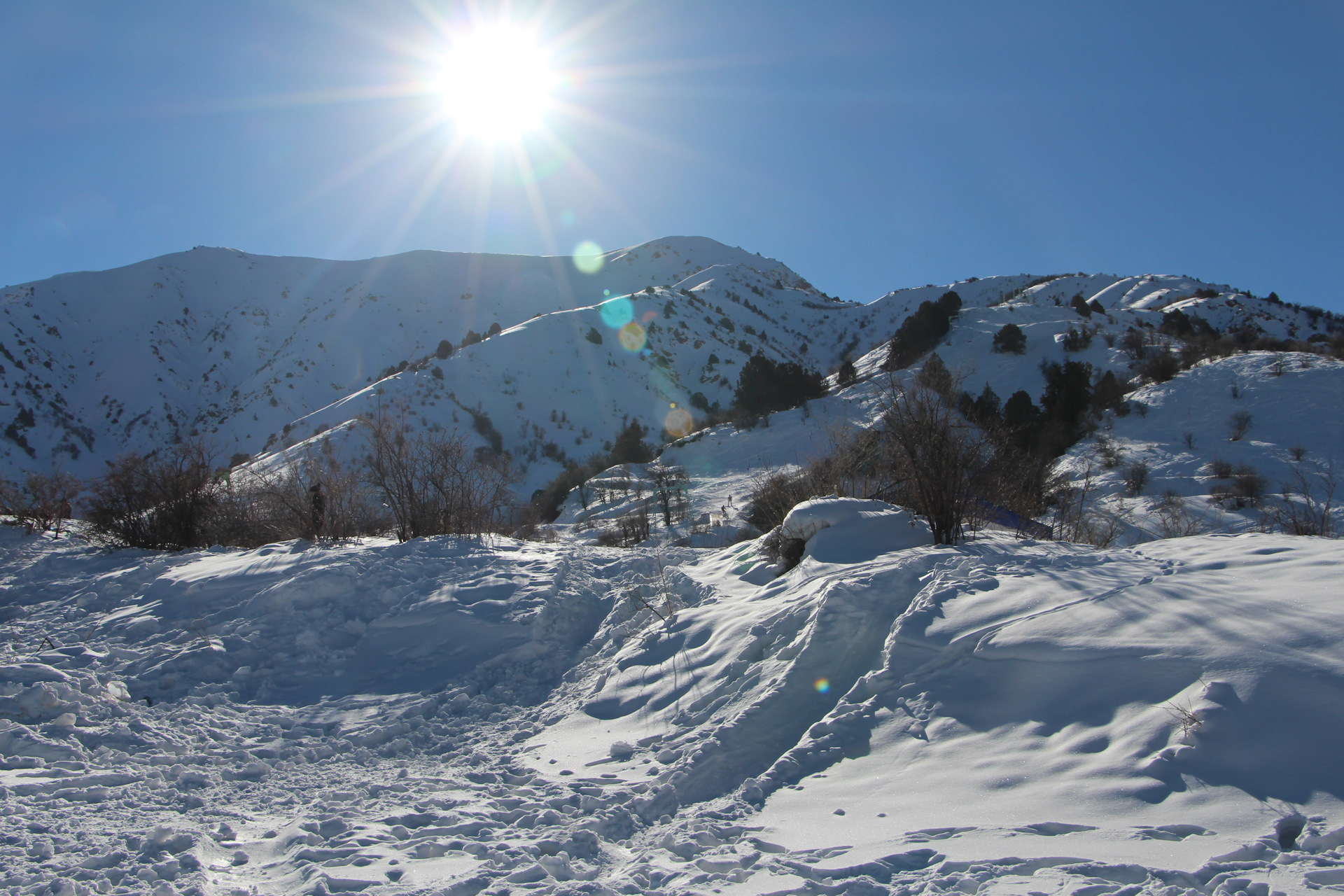 Чимган – зимний курорт - SILK TOUR Uzbeksitan
