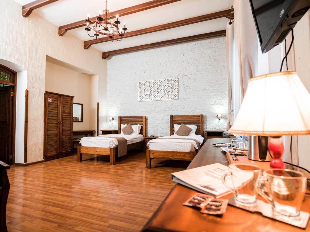 Hotel Malika Bukhara - SILK TOUR Uzbeksitan