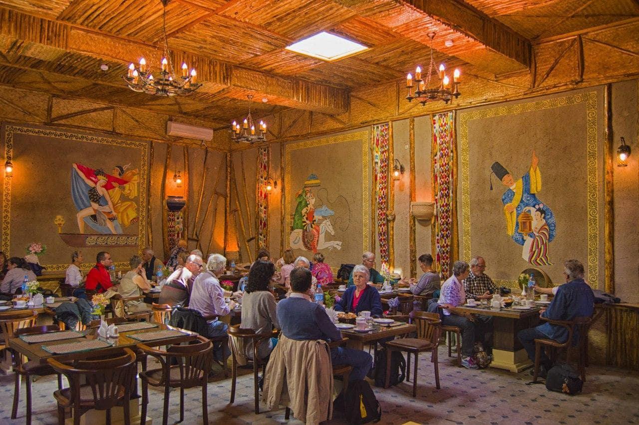 Гостиница Малика - SILK TOUR Uzbeksitan