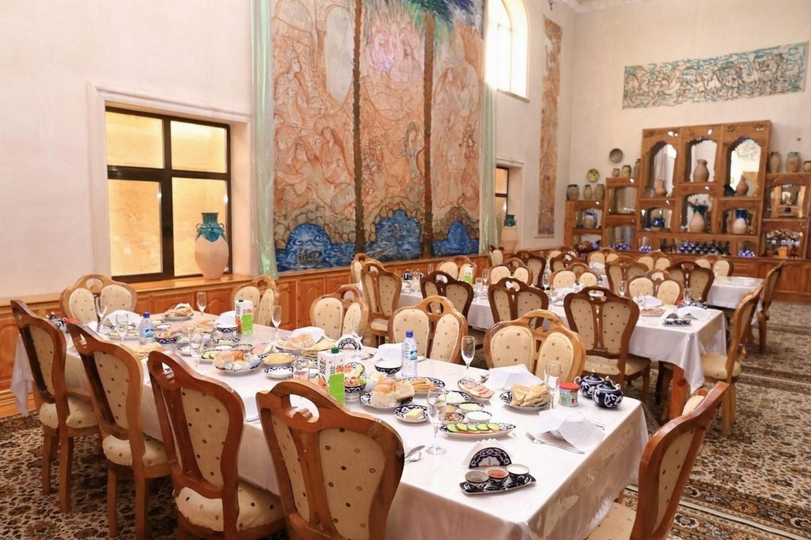 Гостиница Шахерезада - SILK TOUR Uzbeksitan